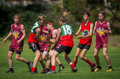Preliminary_Final_N-C_Yr9_Red_Quinns Thunder_vs_Warwick_Greenwood_Knights_09 09 2018-21