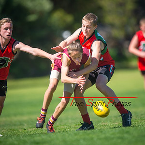 Preliminary_Final_N-C_Yr9_Red_Quinns Thunder_vs_Warwick_Greenwood_Knights_09 09 2018-5