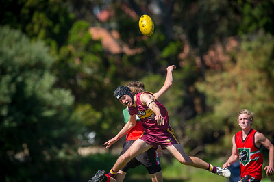 Preliminary_Final_N-C_Yr9_Red_Quinns Thunder_vs_Warwick_Greenwood_Knights_09 09 2018-26