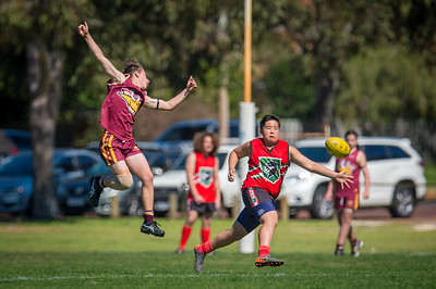 Preliminary_Final_N-C_Yr9_Red_Quinns Thunder_vs_Warwick_Greenwood_Knights_09 09 2018-23