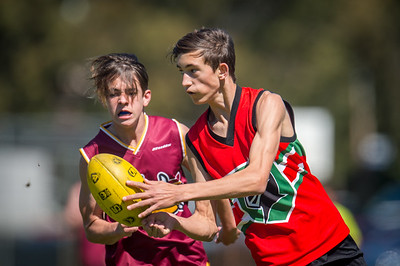Preliminary_Final_N-C_Yr9_Red_Quinns Thunder_vs_Warwick_Greenwood_Knights_09 09 2018-19