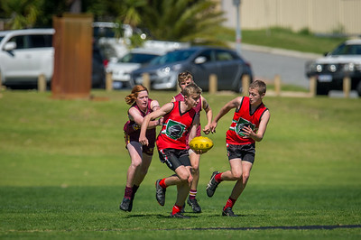 Preliminary_Final_N-C_Yr9_Red_Quinns Thunder_vs_Warwick_Greenwood_Knights_09 09 2018-15