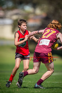 Preliminary_Final_N-C_Yr9_Red_Quinns Thunder_vs_Warwick_Greenwood_Knights_09 09 2018-10