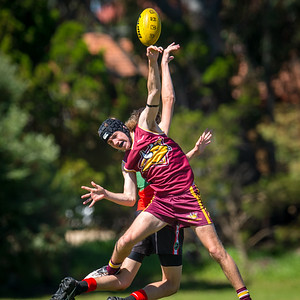 Preliminary_Final_N-C_Yr9_Red_Quinns Thunder_vs_Warwick_Greenwood_Knights_09 09 2018-25