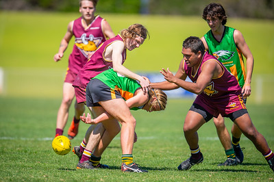 Preliminary_Final_Northern_Conference_18s_Red_Scarborough_Green_vs_Quinns_Bulls_08 09 2019-24