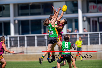 Preliminary_Final_Northern_Conference_18s_Red_Scarborough_Green_vs_Quinns_Bulls_08 09 2019-1
