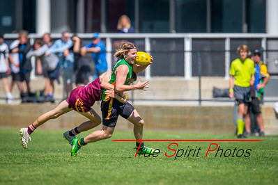 Preliminary_Final_Northern_Conference_18s_Red_Scarborough_Green_vs_Quinns_Bulls_08 09 2019-16