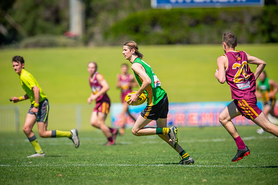 Preliminary_Final_Northern_Conference_18s_Red_Scarborough_Green_vs_Quinns_Bulls_08 09 2019-27
