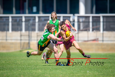Preliminary_Final_Northern_Conference_18s_Red_Scarborough_Green_vs_Quinns_Bulls_08 09 2019-9