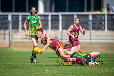 Preliminary_Final_Northern_Conference_18s_Red_Scarborough_Green_vs_Quinns_Bulls_08 09 2019-10