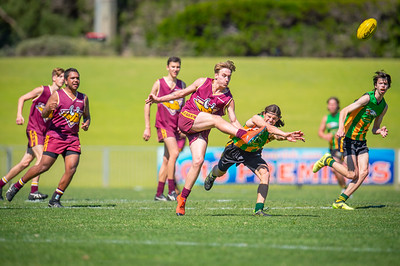Preliminary_Final_Northern_Conference_18s_Red_Scarborough_Green_vs_Quinns_Bulls_08 09 2019-21