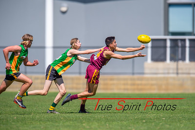 Preliminary_Final_Northern_Conference_18s_Red_Scarborough_Green_vs_Quinns_Bulls_08 09 2019-8