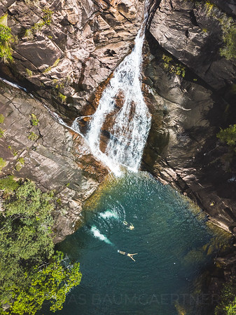 Hinchinbrook Waterfall