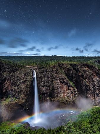 Wallaman Falls Moonbow