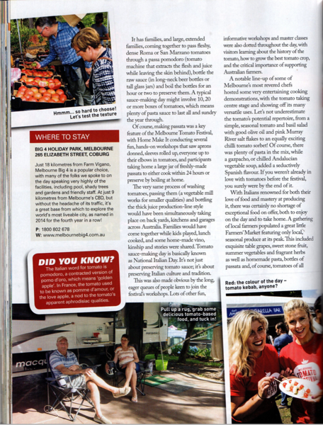 Published in Caravan and motorhome