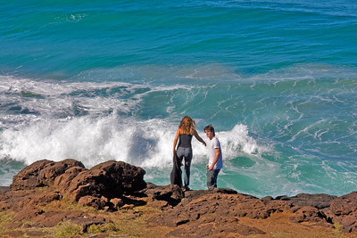 Sunday 25 May 2008 - Give me your hand - Pacific Ocean at Fingal Heads, northern New South Wales - just over the Queensland border - Sorry I haven't been around lately - my boss has been ill and away for five weeks - a lot of her work fell into my hands which meant extra long hours for me - I was managing well until the last couple of weeks when I didn't have the time to pick up my camera - thank goodness she is back tomorrow.  Am looking forward to catching up on what you guys have been posting while I was absent.