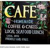 Portland Roads Cafe Sign