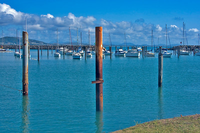 Keppel Bay Marina at Rosslyn Bay Harbour on the Capricorn Coast  September 2008