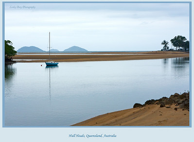 Peaceful Hull Heads, where the Hull River meets the ocean in Queensland, Australia   Photographed July 2010 - © Lesley Bray Photography.