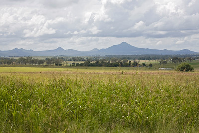 Looking towards Moogerah Peaks from Kalbar