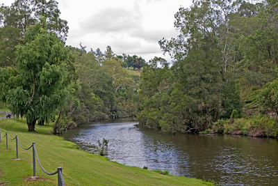 Reynold's Creek below Moogerah Dam