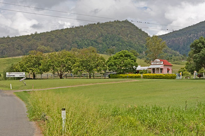 Yarramalong is a 160acre property nestled in a beautiful scenic rim valley.  There is an old bank building on the property (established 1914).