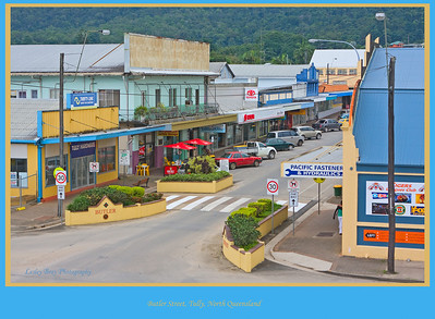 The view from the top of The Golden Gumboot - Butler Street, Tully, North Queensland, Australia.   Photographed July 2010 - © Lesley Bray Photography