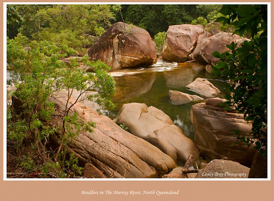 Although we didn't stay, there are lovely camping areas at Murray Falls on the Murray River in the Girrramay National Park in North Queensland, Australia.   Photographed July 2010 - © Lesley Bray Photography