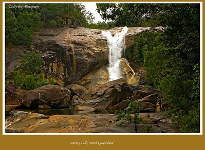 Murray Falls on the Murray River in the Girrramay National Park in North Queensland, Australia  Photographed July 2010 - © Lesley Bray Photography