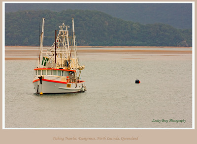 Fishing trawler at Dungeness, North Lucinda, Queensland, Australia.   Photographed July 2010 - © Lesley Bray Photography