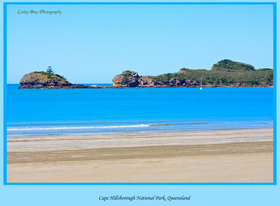 The beach at Cape Hillsborough National Park on the Queensland Coast, Australia.  Photographed August 2010 - © Lesley Bray Photography