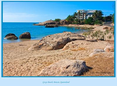 Bowen has some hidden gems!  Grays Beach at Bowen, Queensland, Australia.  Photographed August 2010 - © Lesley Bray Photography