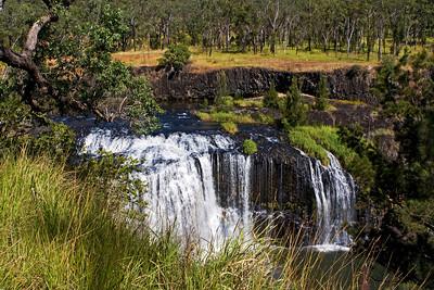 Millstream Falls in the Millstream Nationa Park near Ravenshoe, Queensland.  06 June 2010