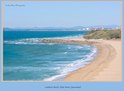 Lamberts Beach at Slade Point, Mackay, Queensland, Australia.  Photographed August 2010 - © Lesley Bray Photography