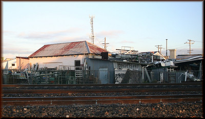 Another view of the junkyard at Coorparoo