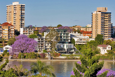 Sunday 19 Oct 2007 - Looking over the Brisbane River from Kangaroo Point towards Fortitude Valley - I think it looks better large.