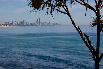 Surfers Paradise taken from the same spot