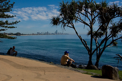 Blue meets blue - taken from beautiful Burleigh Heads