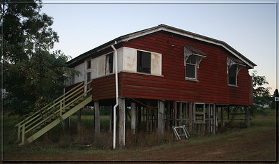 Abandoned house at Capalaba, what memories it must hold ?