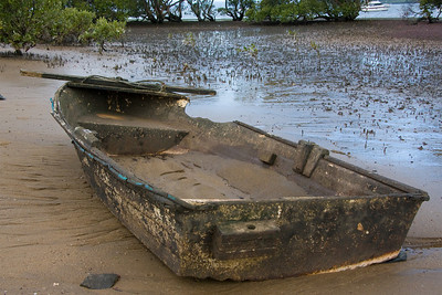 Somebody once loved this boat