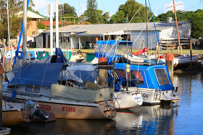 Part of the Weinam Creek Marina, Redland Bay