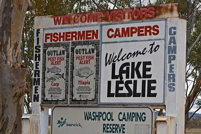 Lake Leslie, Warwick - nice name for a lake !!!!