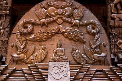 Nepalese Peace Pagoda