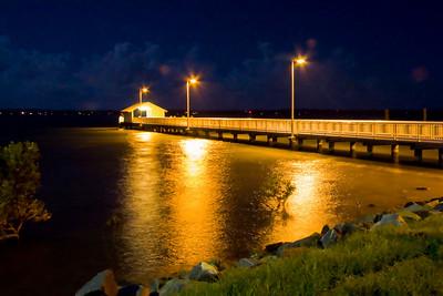 Victoria Point Jetty - added blur