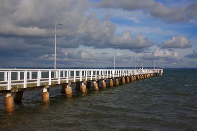 Wellington Point Jetty.