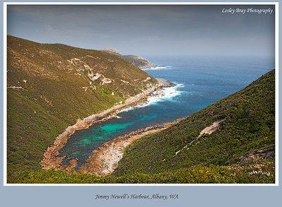 The Great Southern Ocean flows into Jimmy Newell's Harbour in Torndirrup National Park at Albany, Western Australia.  Photographed October 2011 - © Lesley Bray - All Rights Reserved.