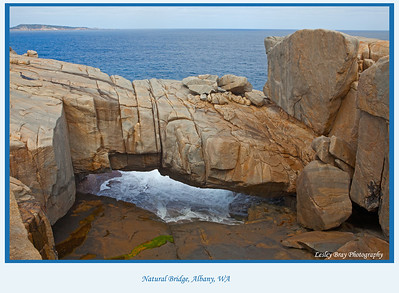 Natural Bridge in Torndirrup National Park, Albany, Western Australia.  Located on the coastline of the Great Southern Ocean.  Photographed September 2011 - © Lesley Bray - All Rights Reserved.