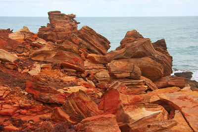 The texture of the rocks is very interesting.