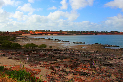 Another view of the amazing colours at Port of Broome.