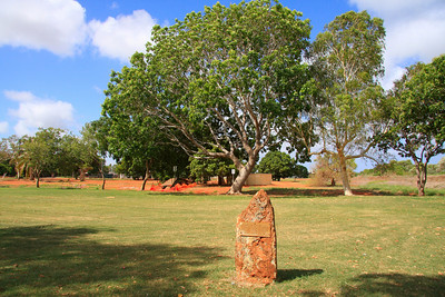 In memory of the Dutch Nationals who were killed in Broome during World War II on 3 March 1942.